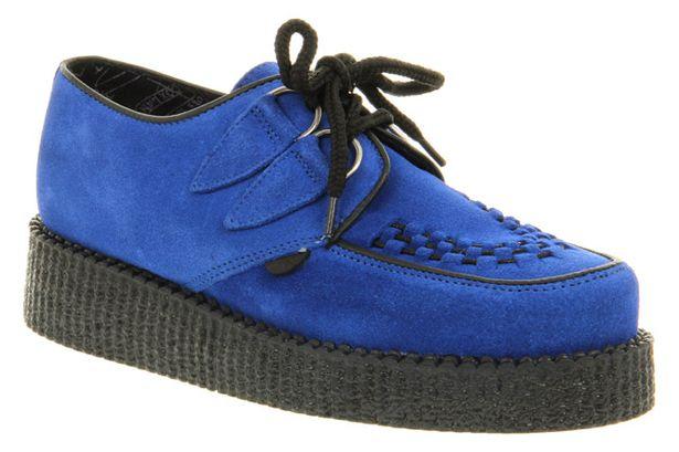 Blue Suede Dance Shoes