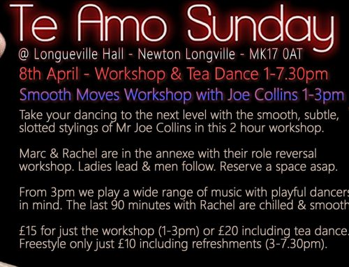 Ceroc Beds & Bucks: Te Amo Sunday – Smooth Moves Workshop