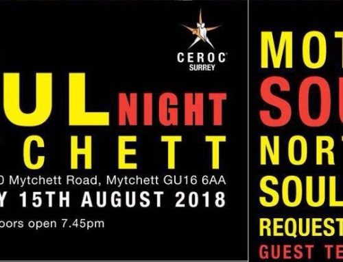Ceroc Surrey, Mytchett:  Soul Night